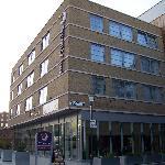 Front of Premier Inn