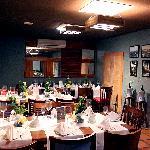 Sala reservada do Armazem Bacco