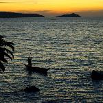 Sunset over Lake Victoria from Cottage 1