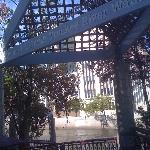 Entrance to the RiverWalk in downtown Reno