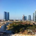 View of Central Park from Sherton Incheon Songdo