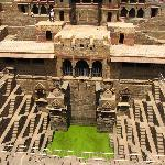 The Abhineri Step Well