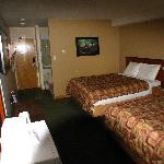 Our Super 8 room