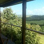 Stunning views from Villa 3