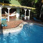 Hibiscus private plunge pool