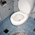 toilette de la chambre
