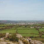The view from Helman Tor