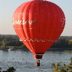 Balloon over the Mighty Mississippi