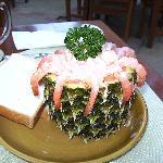 Cocktail de Crevettes avec la Singha