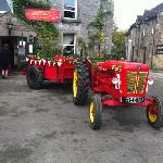Wedding tractor!!