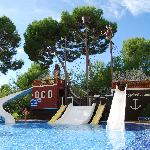 Pirate ship pool Viva Mallorca