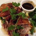 Thai Boneless Duck over Veggies