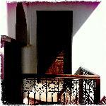A bedroom door