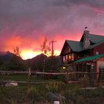 Sunset at San Isabel B & B