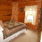 Bedroom #2 at Eagles Lodge