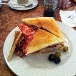 Sandwich Continental, ¡buenísimo!