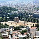 Tempio di Zeus dal Licabetto