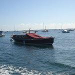 une pinasse (bateau typique d'Arcachon)