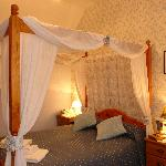 Our Four Poster Double EnSuite Room.
