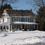 1825 Inn in Winter
