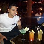 Amazing bar men by the name of Mohammed. Ahh Snake!