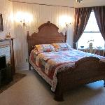 The Crosley room where we slept