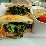 A typical sandwich
