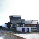 Bergstation mit Unterkunft