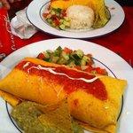 Burrito végétarien