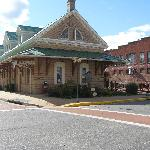 Old train depot in downtown Orange