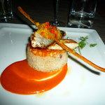 Filets de daurade et quinoa à l'orange confite