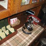 tea and coffee selections - quite extensive tea!