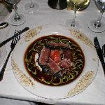 The Ahi-tuna entree selected