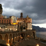 One of many beautiful scenes on the Amalfi Coast