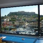 Panoramic Acropolis view: room 42