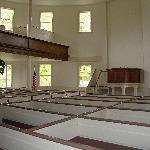 Richmond Round Church Interior