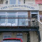 The front of the Collingwood hotel