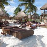 The EC Private Beach Area