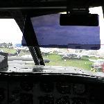 View from the flightdeck