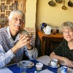 A pleasant breakfast at the Posada de Manolo