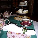 Modified high tea (for one)