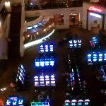 View of casino from 6th floor
