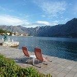 Waterfront at Hotel Splendido