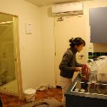 Full kitchen to prepare our dinner