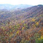 View behind Blowing Rock, NC