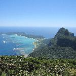 View from Mt Gower