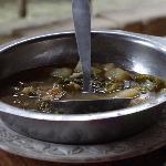 Le soupe servie avec le menu a 11euros