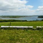 View looking over the Cleddau estuary towards Carew