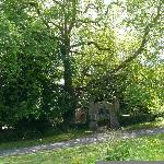 Entrance to Lawrenny church