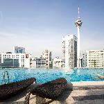 Splash-Infinity pool with the best KL city view